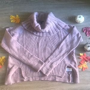 Warm and fuzzy Express sweater